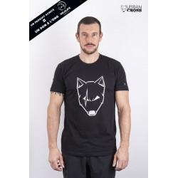 T-Shirt Homme Noir LOUP BALAFRE blanc | URBAN CROSS
