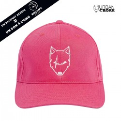 Pink SCARED WOLF cap | URBAN CROSS