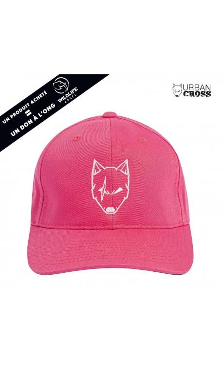 Pink SCARED WOLF cap | URBAN CROSS
