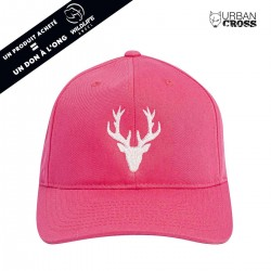 Pink POLYGON DEER cap | URBAN CROSS