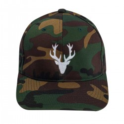 Green Camo POLYGON DEER cap | URBAN CROSS