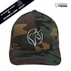 Green Camo UNICORN cap | URBAN CROSS