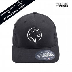 Black UNICORN pink cap | URBAN CROSS
