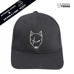 Charcoal  SCARED WOLF cap | URBAN CROSS