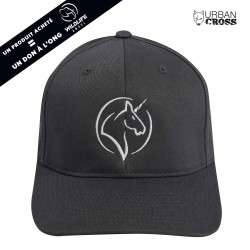 Charcoal UNICORN cap | URBAN CROSS
