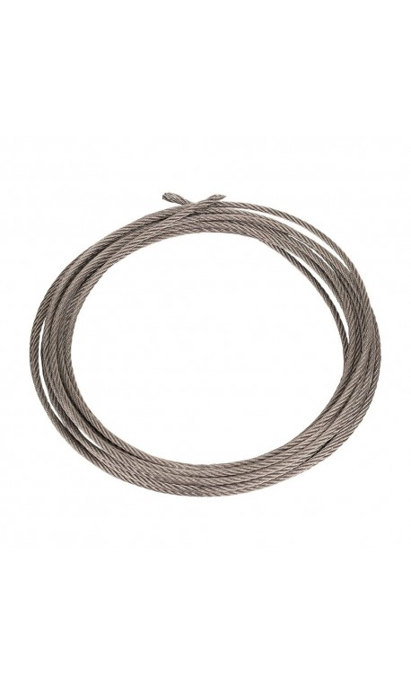 Jump rope grey 2 mm uncoatable cable | XOOM project
