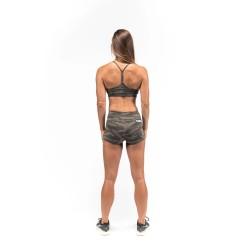 Training bra green camo for women | SAVAGE BARBELL