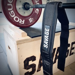 NYLON Strength Belt Black - SAVAGE BARELL