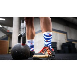 Multicolor workout socks MARIANNE | SOCK OF THE DAY
