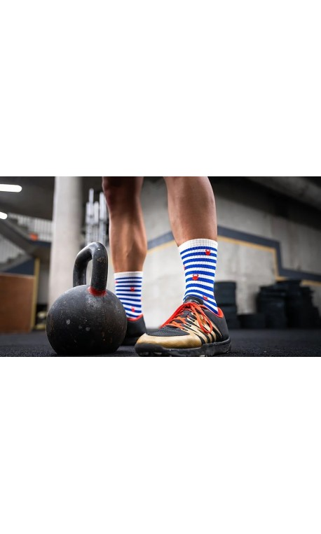 Chaussettes multicolores MARIANNE | SOCK OF THE DAY