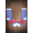 multicolor workout socks made in france MARIANNE | SOCK OF THE DAY