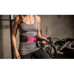 NYLON Strength Belt Black and Pink| HARBINGER