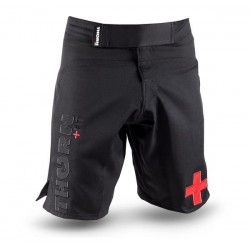 Short homme noir COMBAT TRAINING SHORTS LIMITED| THORN FIT