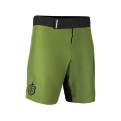 Training short green COMBAT 2.0 TRAINING SHORTS WINGS for men| THORN FIT