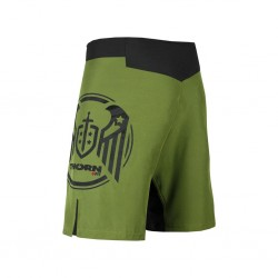 Short homme vert COMBAT 2.0 TRAINING SHORTS WINGS | THORN FIT