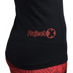 Training tank black LA DAMA SUMO for women | PROJECT X