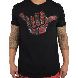 T-shirt black FIREBISCUS SHAKA for men | PROJECT X