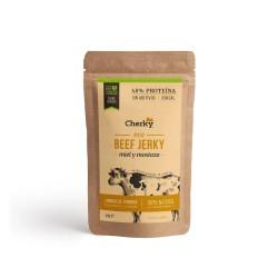 Beef protein bag ECO BEEF JERKY HONEY & MUSTARD 30 Gr - CHERKY FOODS