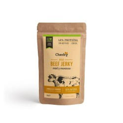 Sachet protéiné Boeuf ECO BEEF JERKY MIEL & MOUTARDE 30 Gr | CHERKY FOODS