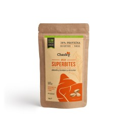 Protein ECO SUPERBITES PORK, PISTACHIO SWEET POTATO AND CURCUMA 30 Gr - CHERKY FOODS