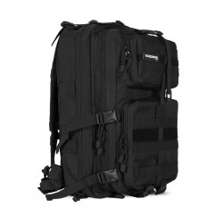 Sac de sport noir Tactical DIVISION 40 L | THORN FIT