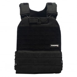 Gilet lestable noir Tactical | THORN FIT