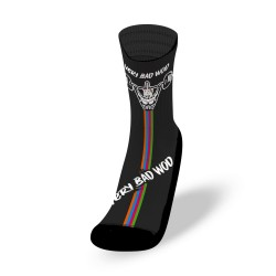 White workout Socks UNICORN SOLDIER - VERY BAD WOD
