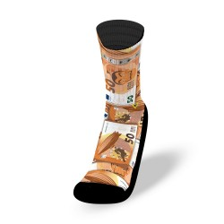 Multicolores workout socks DALI NOTES | LITHE APPAREL