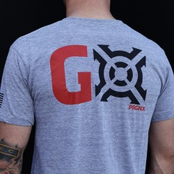 T-Shirt Homme Gris GO| PROGENEX