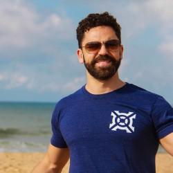 Training T-Shirt Athletic Grey GO for men   PROGENEX
