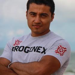 T-Shirt Homme Gris Charbon WOD| PROGENEX