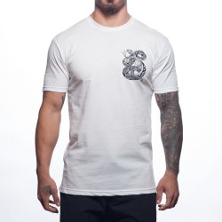 Training T-Shirt white HENDRICKS for men | PROGENEX
