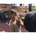 Training tank grey APACHE for women|ROKFIT