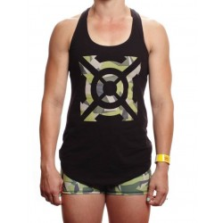 Training tank black CAMO ICON for women | PROGENEX