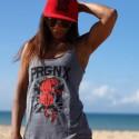 Débardeur femme gris PANTHER| PROGENEX