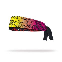 Reversible workout tie headband FLUID | LITHE APPAREL