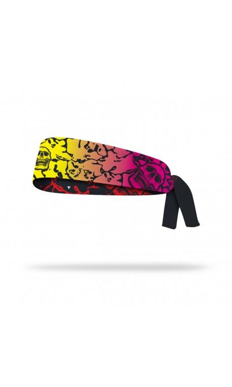 Reversible workout tie headband FLUID | LITHE APPAREL