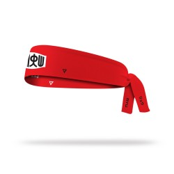 Reversible workout tie headband RYU STREET FIGHT| LITHE APPAREL