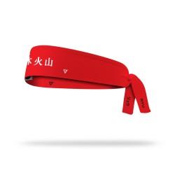 Reversible workout tie headband RYU STREET FIGHT| LITHE APPAREL