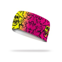 Bandeau élastique multicolor FLUOR FLUID| LITHE APPAREL