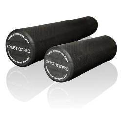 Rouleau de massage 45 cm noir | GYMSTICK