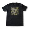 T-shirt black TIGER CAMO for men   CAFFEINE AND KILOS