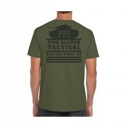 T-shirt green ROLLING PANZER for men | 5.11 TACTICAL