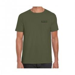 T-shirt Homme vert ROLLING PANZER 2020   5.11 TACTICAL