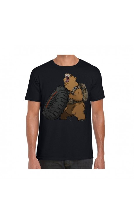 T-shirt Homme noir GRIZZLY FITNESS | 5.11 TACTICAL