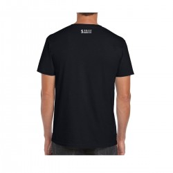 T-shirt Homme noir GRIZZLY FITNESS   5.11 TACTICAL