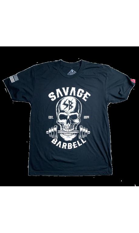 T-Shirt homme noir BITE ME | SAVAGE BARBELL