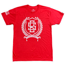 T-shirt red ZEUS for men | SAVAGE BARBELL