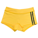 Short femme taille basse jaune VIPER |SAVAGE BARBELL