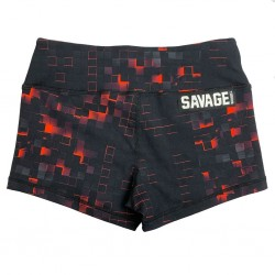 Training short black EMBER for women | SAVAGE BARBELL